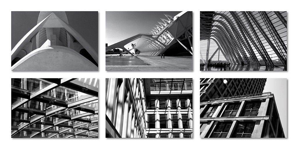 Black & White Architecture