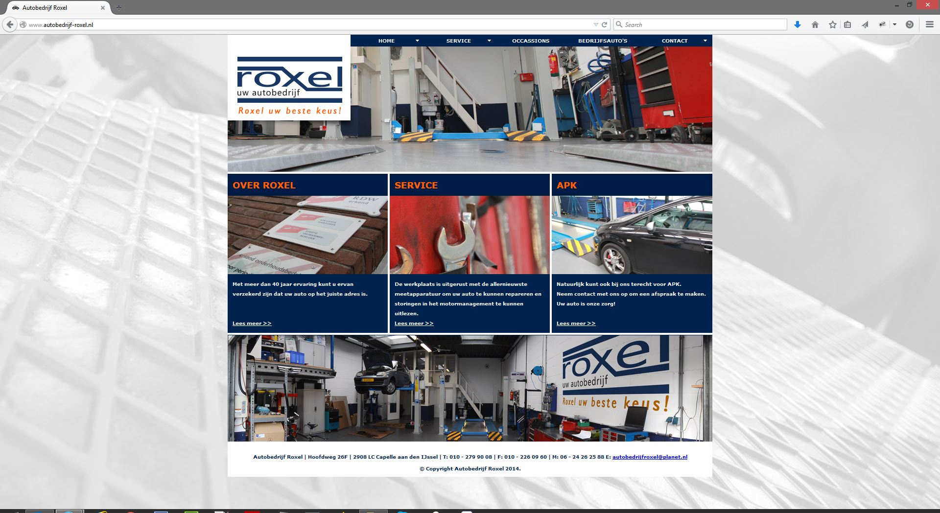 Roxel website