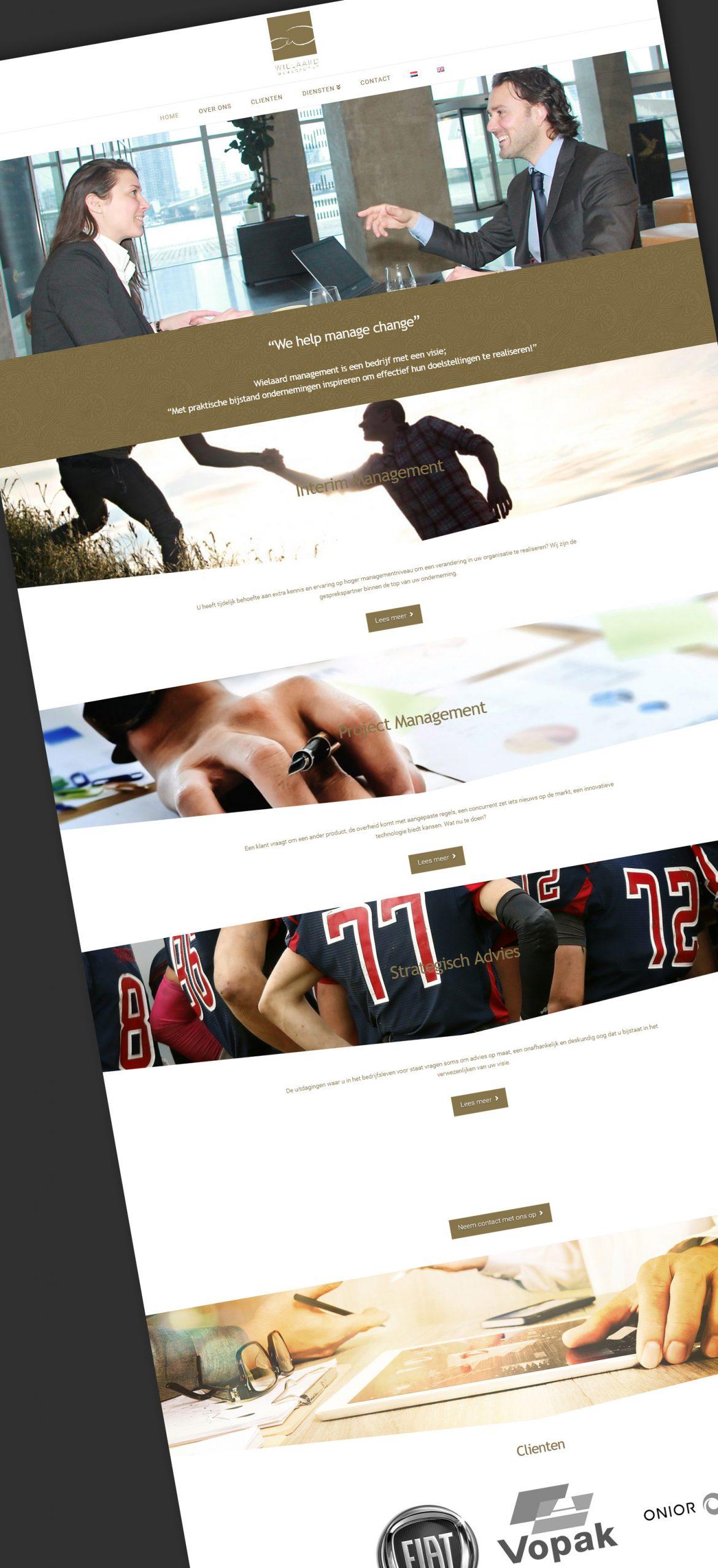 wielaard management Website